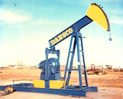 The first Dansco pump jack produced